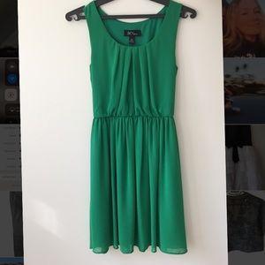 BCX Green Dress